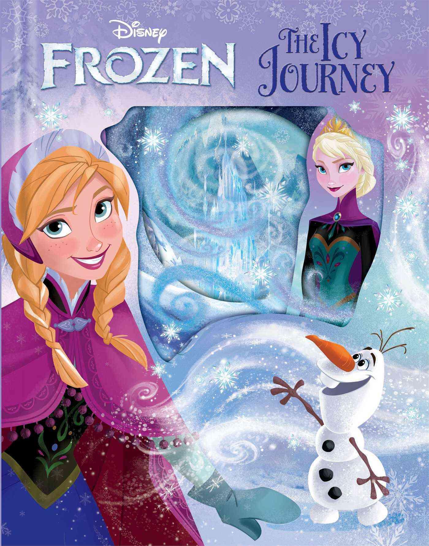 Disney Frozen the Icy Journey By Disney Frozen (CRT)